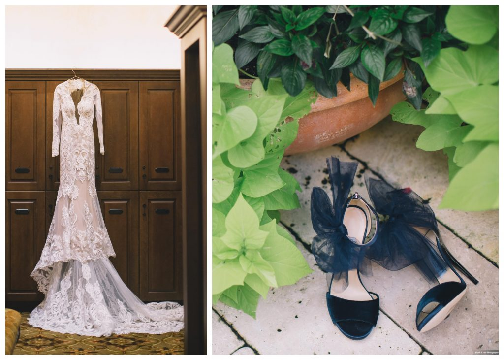 Wedding Dress Bride's Shoes | Invitations Save the Date | Boho Chic Rustic Nature Bella Collina Wedding Anna Christine Events Black & Hue Photography