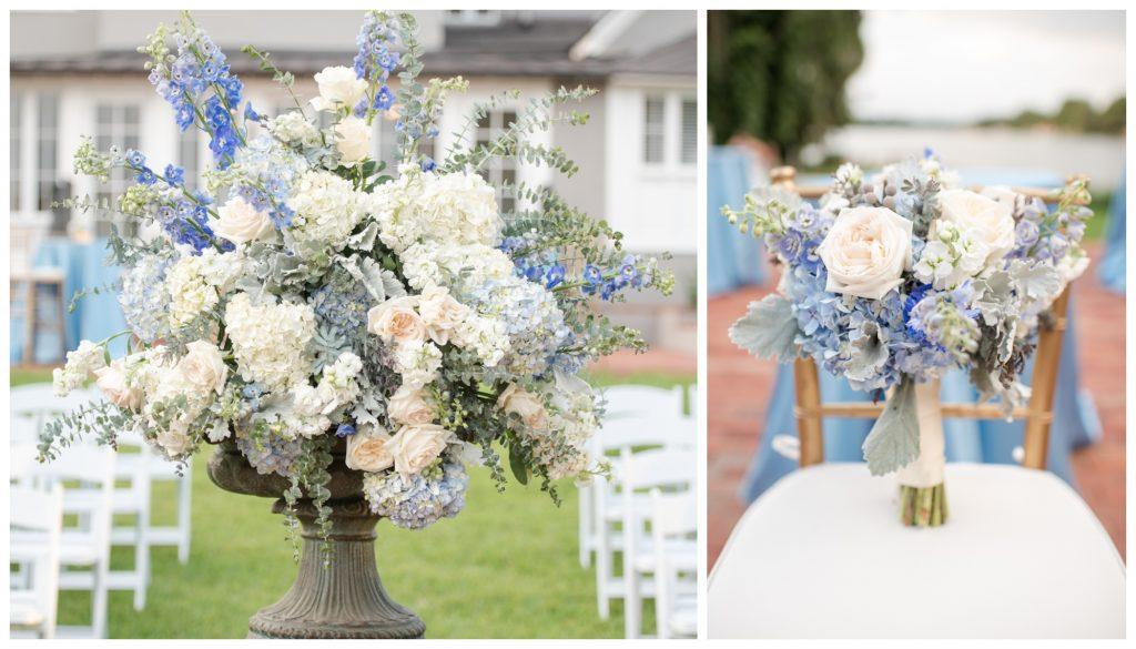 Florals Bluegrass Chic Ceremony | Wedding Photo Shoot Historic Estate Capen Showalter House Serenity Rose Quartz Florida Anna Christine Events
