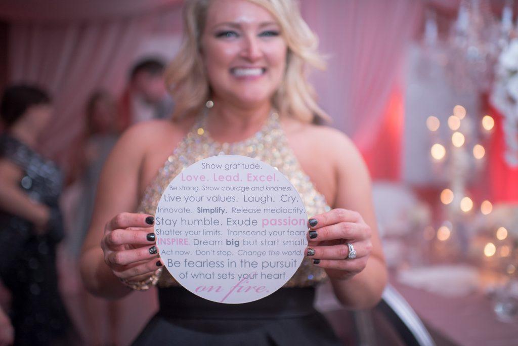 Kristin Motto Paper | Our DJ Rocks 5 Year Anniversary Party Heaven Event Center Anna Christine Events