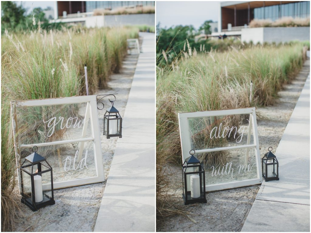 Signs Leading to Ceremony | Rustic Chic Wedding Romantic Ashley Jane Photography Streamsong Resort Florida Orlando Wedding Planner Anna Christine Events