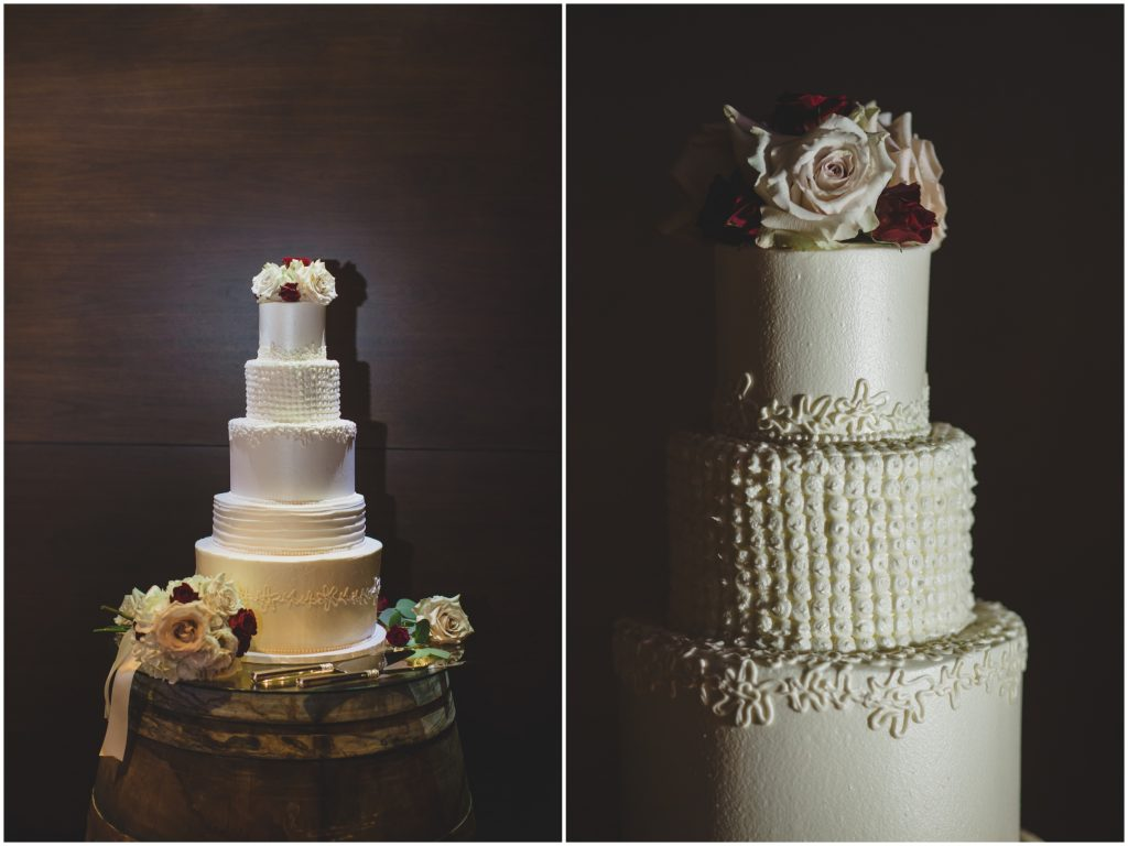 Wedding cake multi-tier | Rustic Chic Wedding Romantic Ashley Jane Photography Streamsong Resort Florida Orlando Wedding Planner Anna Christine Events
