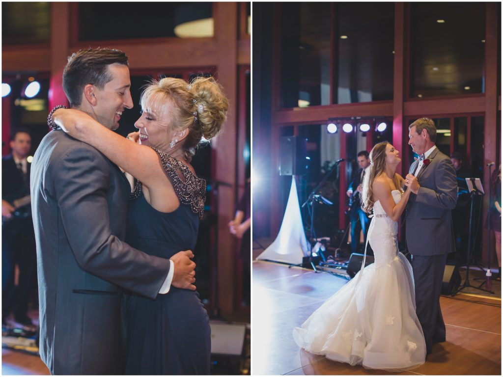 Parent Dances Mother-Son Father-Daughter | Rustic Chic Wedding Romantic Ashley Jane Photography Streamsong Resort Florida Orlando Wedding Planner Anna Christine Events