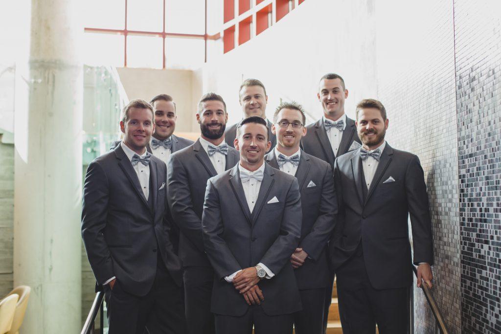 Groom & groomsmen | Rustic Chic Wedding Romantic Ashley Jane Photography Streamsong Resort Florida Orlando Wedding Planner Anna Christine Events
