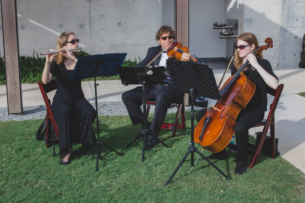 Ceremony musicians trio | Rustic Chic Wedding Romantic Ashley Jane Photography Streamsong Resort Florida Orlando Wedding Planner Anna Christine Events