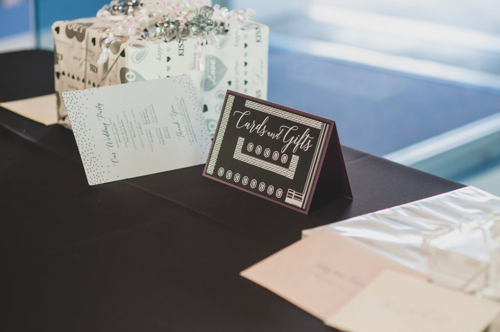 Cards & Gifts table sign Super Mario | Nerd Geek Chic Wedding Theme Game of Thrones Harry Potter Super Mario Orlando Science Center Anna Christine Events Orlando Wedding Planner Ashley Jane Photography