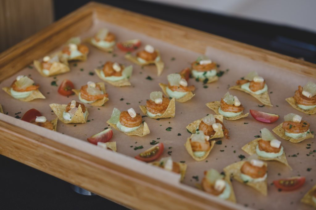 Appetizers at cocktail hour | Rustic Chic Wedding Romantic Ashley Jane Photography Streamsong Resort Florida Orlando Wedding Planner Anna Christine Events