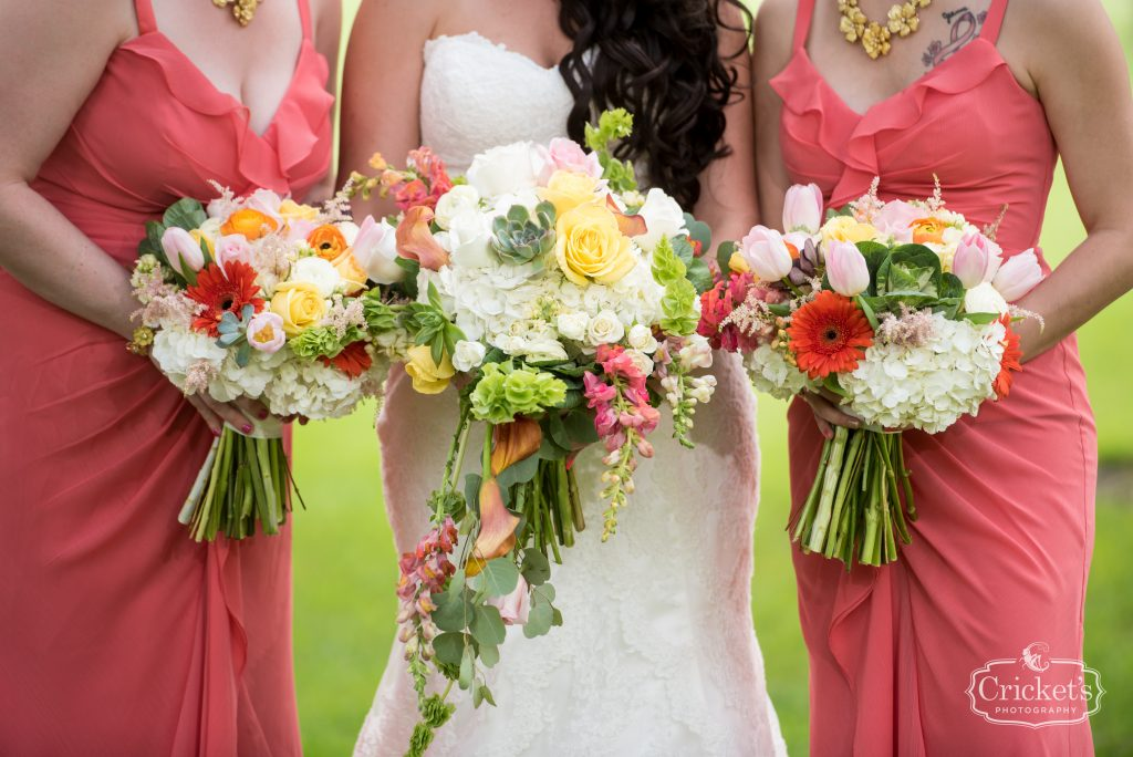 Bride & Bridesmaids Bouquets Claudia's Pearl Florist | Travel Themed Inspired Wedding Mission Inn Resort Orlando Florida Anna Christine Events Cricket's Photo & Cinema
