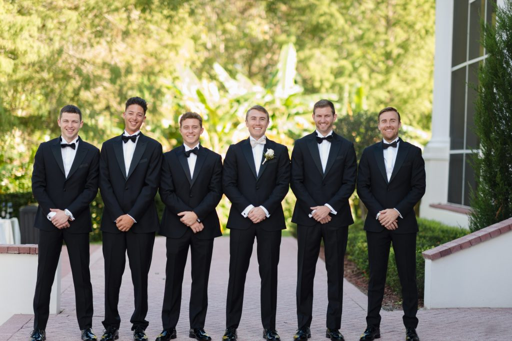Groom & Groomsmen Before Getting Ready | Travel Inspired Themed Glamorous Gold & White Wedding Luxmore Grande Estate Anna Christine Events Justin DeMutiis Photography