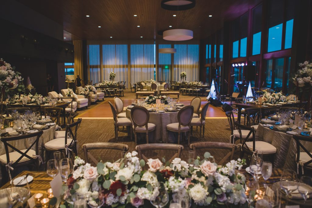 Tables at reception | Rustic Chic Wedding Romantic Ashley Jane Photography Streamsong Resort Florida Orlando Wedding Planner Anna Christine Events