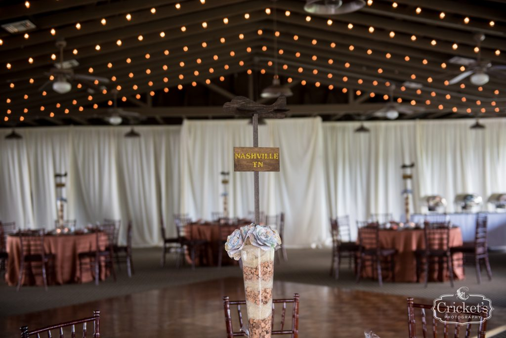 Reception Tables Airplane Centerpieces | Travel Themed Inspired Wedding Mission Inn Resort Orlando Florida Anna Christine Events Cricket's Photo & Cinema