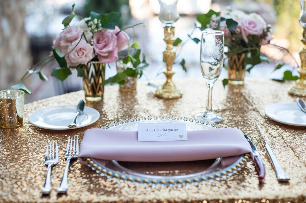 Name card for bride reception | Classic Pink and White Wedding Bella Collina Kathy Thomas Photography Anna Christine EventsClassic Pink and White Wedding Bella Collina Kathy Thomas Photography Anna Christine Events
