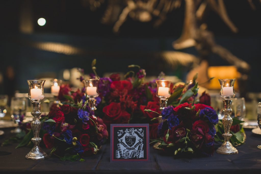 Head table | Nerd Geek Chic Wedding Theme Game of Thrones Harry Potter Super Mario Orlando Science Center Anna Christine Events Orlando Wedding Planner Ashley Jane Photography