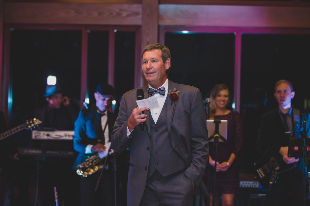 Father of the bride speech toast | Rustic Chic Wedding Romantic Ashley Jane Photography Streamsong Resort Florida Orlando Wedding Planner Anna Christine Events