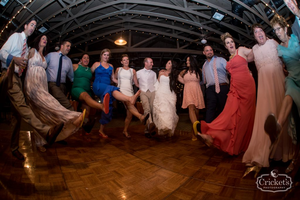 Open Dancing Kick Line | Travel Themed Inspired Wedding Mission Inn Resort Orlando Florida Anna Christine Events Cricket's Photo & Cinema