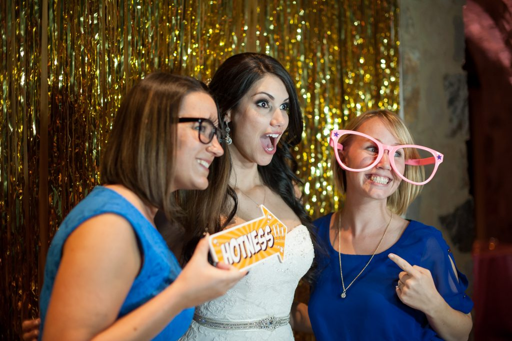 Photobooth Rocks | Classic Pink and White Wedding Bella Collina Kathy Thomas Photography Anna Christine Events