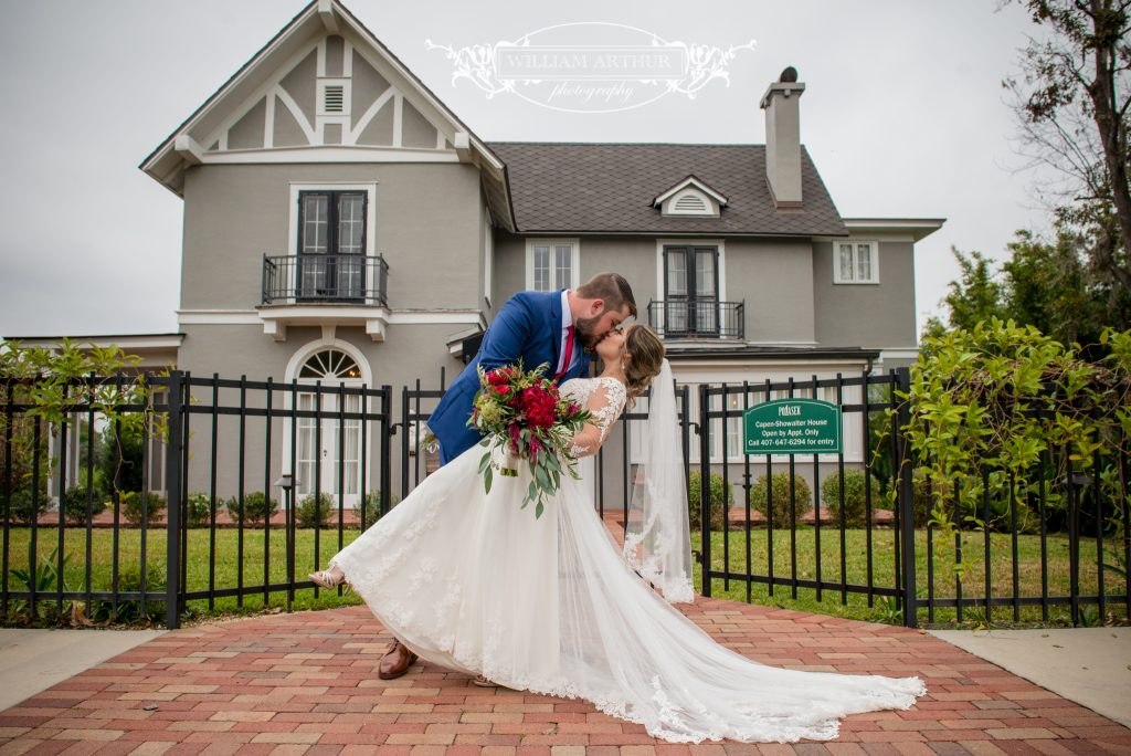 Romantic Storm Trooper Wedding Capen House Orlando Wedding Planner Anna Christine Events William Arthur Photography