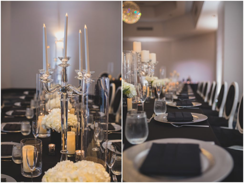 Classy Black & White Wedding B Resort Anna Christine Events Orlando Wedding Planner