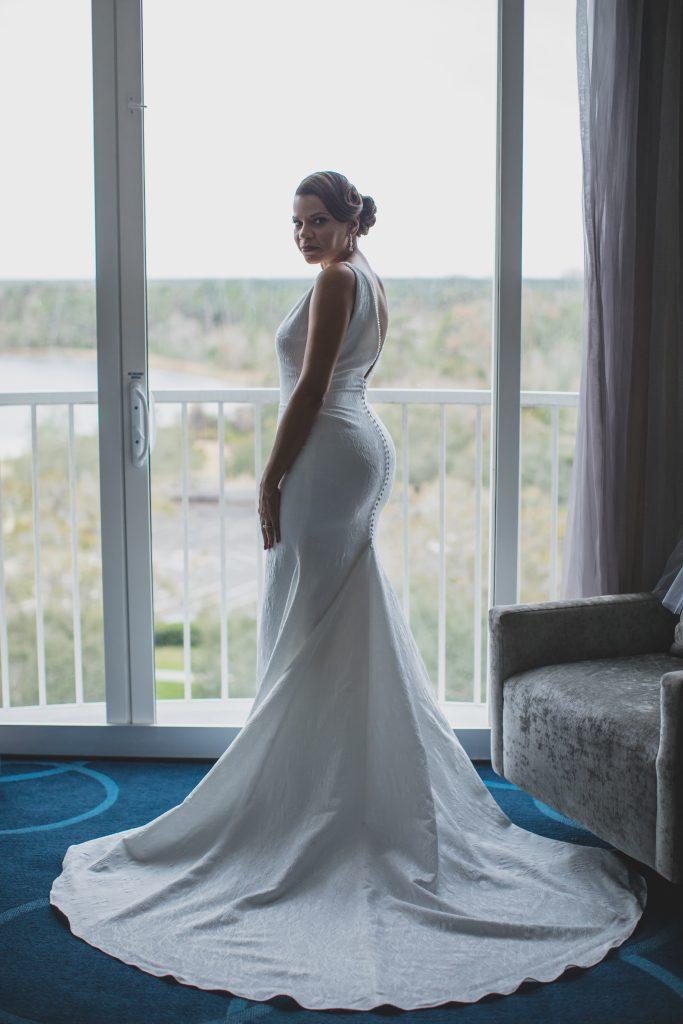 Classy Black & White Wedding B Resort Anna Christine Events Orlando Wedding Planner