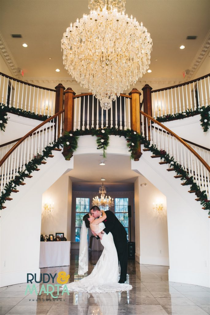 Winter Inspired Wintry Wedding Christmas Holiday Anna Christine Events Orlando Wedding Planner Luxmore Grande Estate